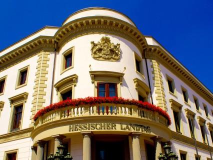 Wiesbaden – Eingangstüren Hessischer Landtag