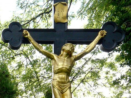 Straubing – Historischer Friedhof – Friedhofskreuz