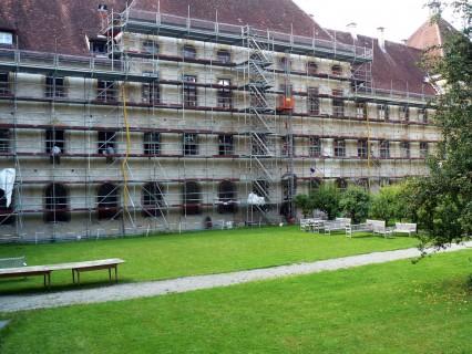 Schloss Salem – Restaurierung der Eisenfenster (um 1700)