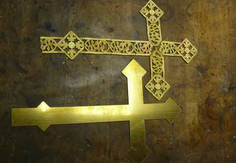 Nachbildung Altarkreuz