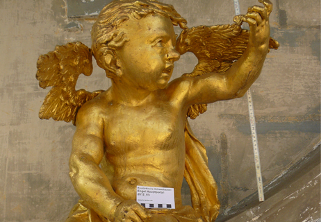 Kloster Ochsenhausen – Putti aus Blei
