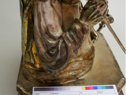 Diözesanmuseum Rottenburg – Silberbüste des Hl. Laurentius (17. Jh.)
