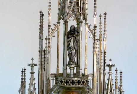Maria Himmelfahrt – Neugotische Monstranz (um 1887)