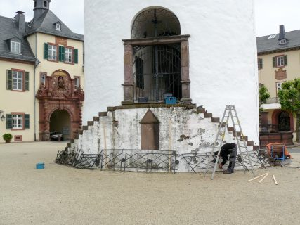 """Bad Homburg """"Weißer Turm"""" – Gusseisernes Treppengeländer"""