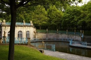 Schloss Wilhemsthal – Bleistatuen